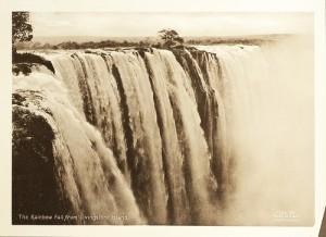 Rainbow Falls, Livingston Island, Zambia   Immagine senza vincoli di copyright noti ripresa da Flickr