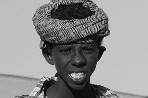 Bambino Afar, Dancalia, foto di Angelo Calianno su licenza CC