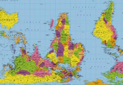 Cartina Geografica Italia Africa.Terra Incognita La Forma Reale Dell Africa Fuori Dalle Mappe Voci Globali