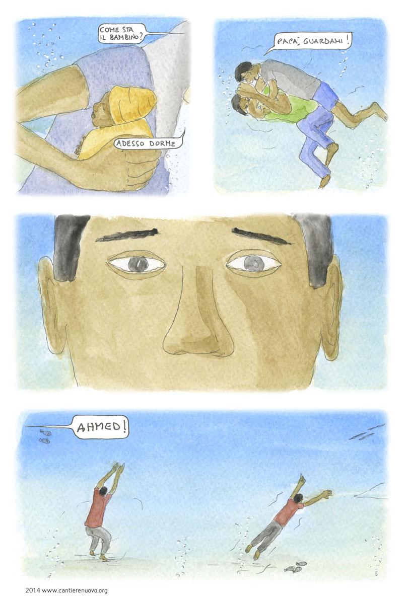 'Con queste mani...', storia illustrata di Luca Serasini.