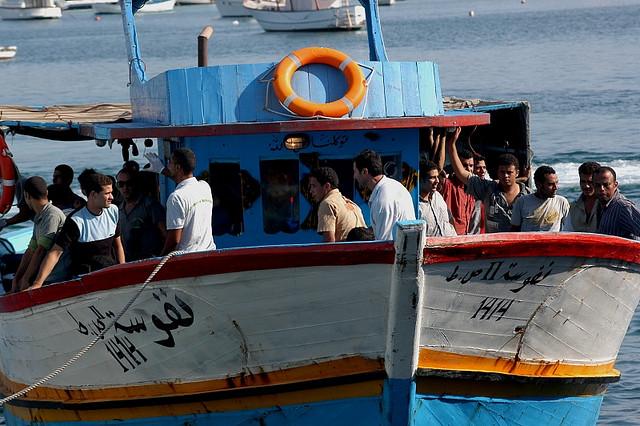 Lampedusa, foto dell'utente Flickr Noborder Network, licenza CC
