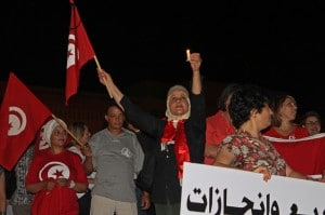 Tunisini contro il terrorismo, foto dell'utente Flickr Magharebia su licenza CC.