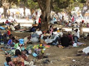 Campo per rifugiati dalla Repubblica Centroafricana in Camerun, foto di EU Commission DG ECHO su Flickr, licenza CC.