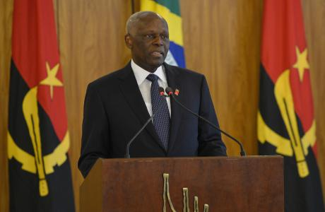 Il Presidente dell'Angola, José Eduardo dos Santos. Wikimedia Commons.