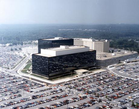 National Security Agency, quartier generale a Fort Meade, Maryland. Foto di pubblico dominio, Wikimedia Commons.