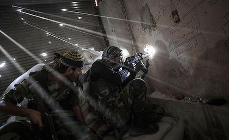 Violenze ad Aleppo. Narciso Contreras, Freedom House / Flickr su licenza CC.