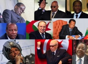 Alcuni dei presidenti africani più anziani, elaborazione di Davide Galati.