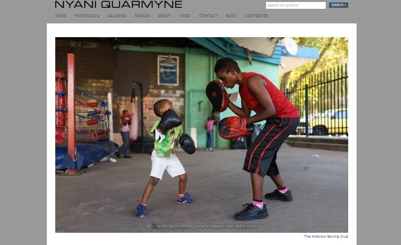 Sito personale del fotografo Nyani Quarmyne
