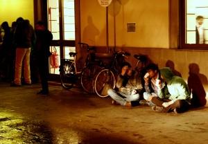 Migranti in stazione a Udine 1