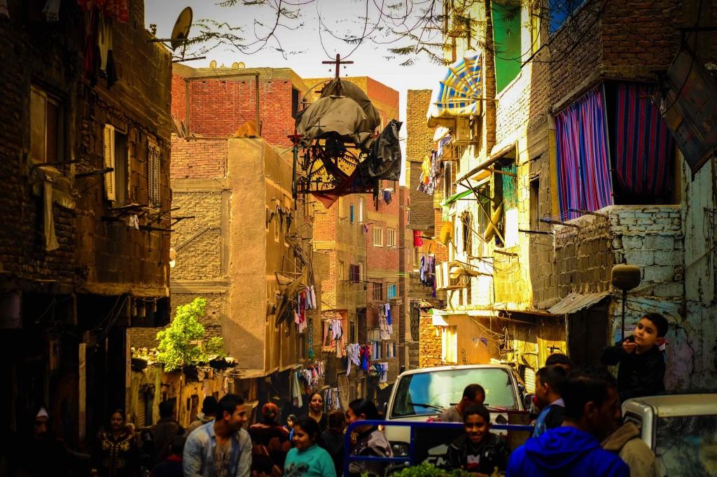 Cairo, la città spazzatura di Muqattam. Foto di Angelo Calianno.