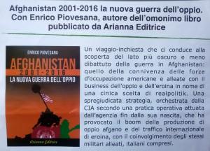 afghanistan 2001-2016 la nuova guerra dell'oppio