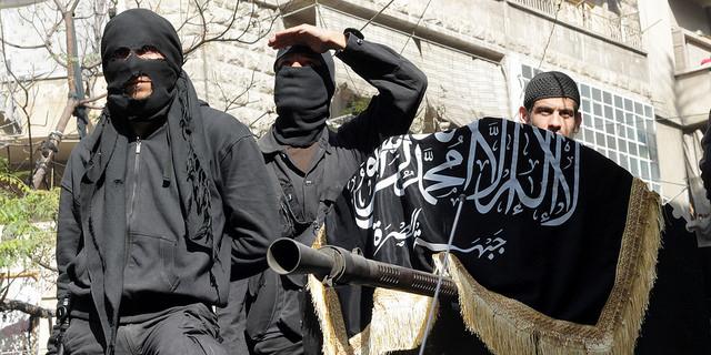 Membri del gruppo jihadista al-Nusra Front
