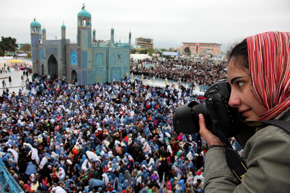 Farzana Wahidy, giornalista afgana