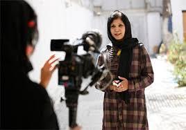 Una giornalista afgana al lavoro