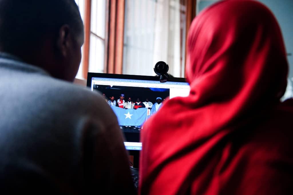 Laboratorio di informatica con i rifugiati, Fondazione Mondo Digitale