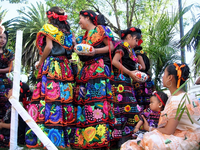 Donne in Chiapas, Mexico