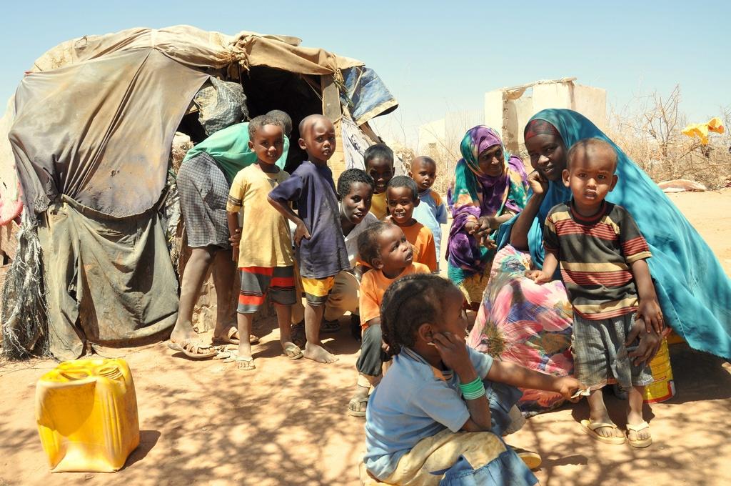 condizioni vita campo profughi Corno d'Africa