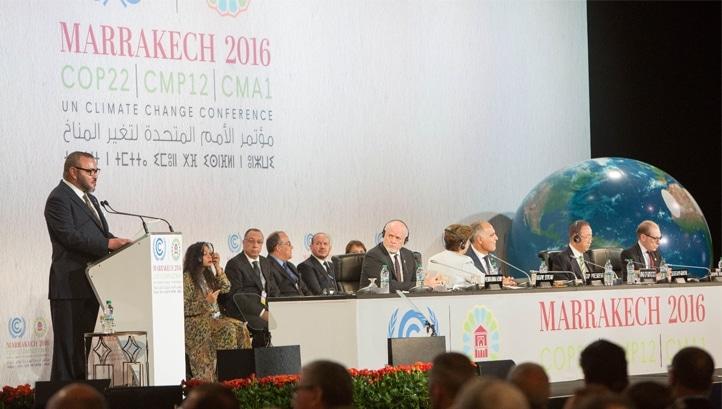 Conferenza COP22 a Marrakesh, foto ufficiale.