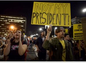 Proteste anti-Trump, novembre 2016