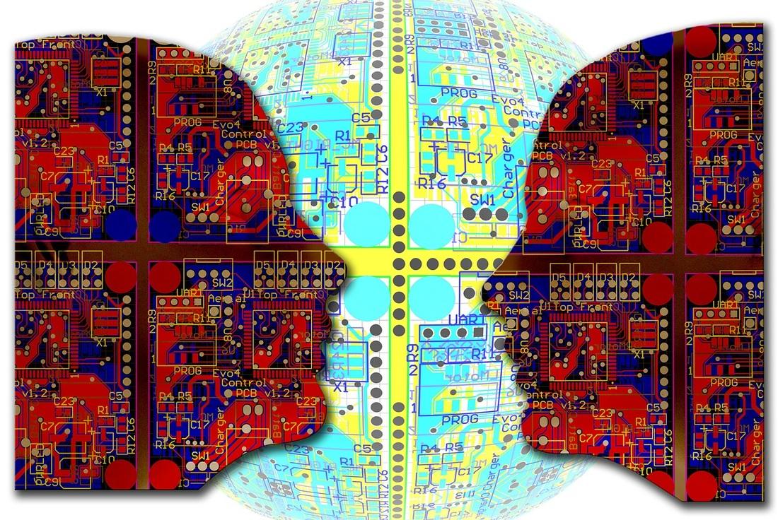 La rapida crescita dell'Intelligenza Artificiale sta causando problemi significativi nel campo dell'etica e dei diritti umani. Foto ripresa da Pixabay/geralt. Alcuni diritti riservati.