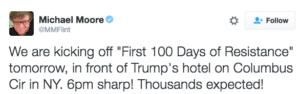 Tweet di Michael Moore