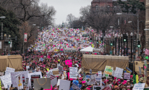 The Women's March on Washington, DC on January 21, 2017. Mobilus in Mobilii / Flickr