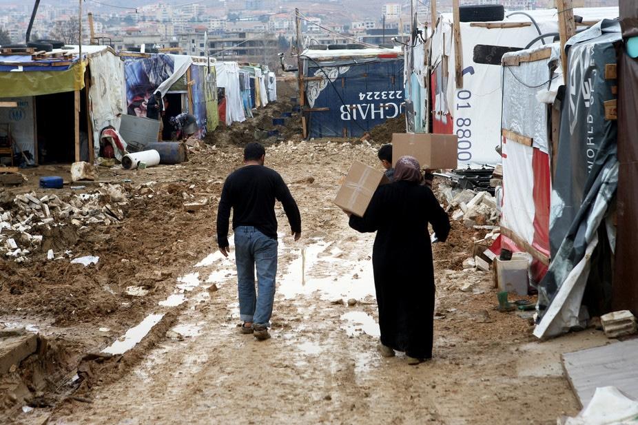 Nessun posto dove andare: rifugiati siriani in un campo del Libano orientale. Lucie Parseghian/EPA