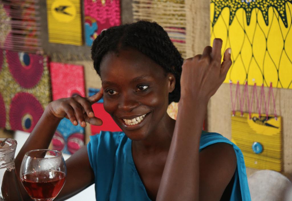 Nana Oforiatta-Ayim al Chale Wote Street Arts Festival 2016, foto pubblicata su anoghana.org