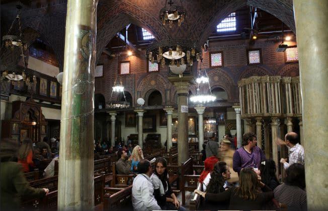 All'interno di una Chiesa copta nel vecchio Cairo. Scattata il 29 novembre 2009. Immagine ripresa da Flickr/Askii. Alcuni diritti riservati.