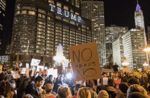 Proteste a Chicago, 7/4/17