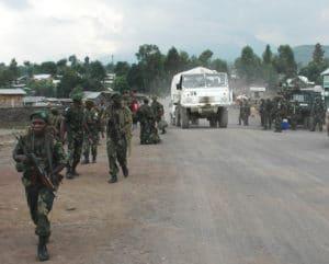 Truppe delle Nazioni Unite a Goma. Utente Flickr MONUSCO Photos. Licenza CC.
