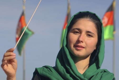 negir direttirice d'orchestra afghanistan