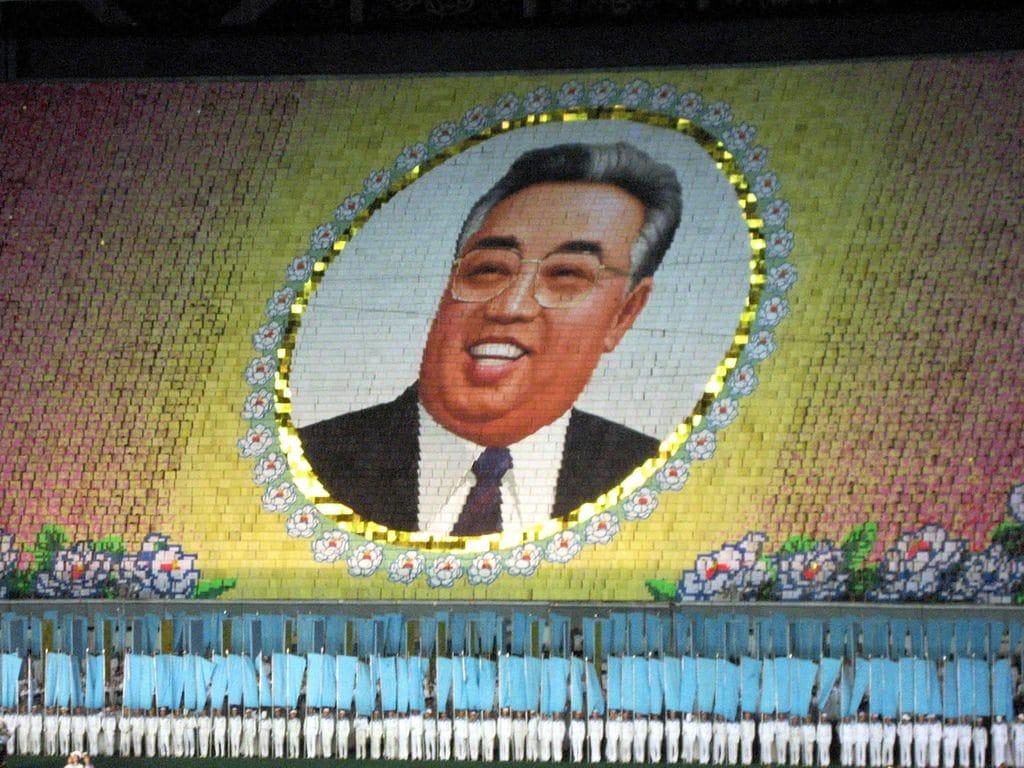 Kim II Sung, ex primo segretario del Partito dei Lavoratori di Corea. Scattata l'8 ottobre 2007. Immagine ripresa da Flickr/David Stanley. Alcuni diritti riservati.