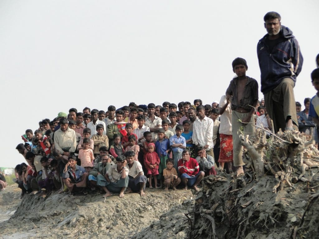 Sfollati Rohingya, foto Flickr dell'European Commission DG ECHO. Licenza CC.