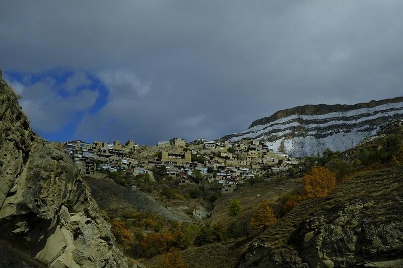 Villaggi di montagna del Caucaso
