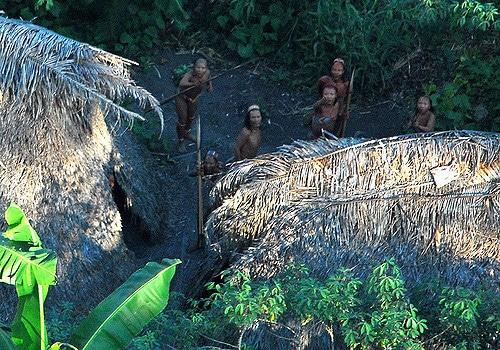 Tribù incontattate nella foresta amazzonica - Foto Flickr - Creative Commons - Gleilson Miranda - Governo do Acre