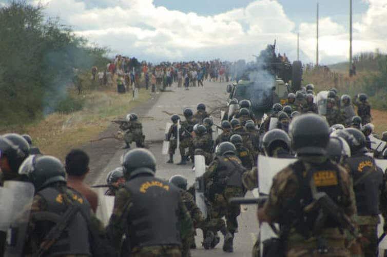 Il conflitto del 2009 a Bagua tra gruppi indigeni e la polizia ha causato almeno 33 morti.