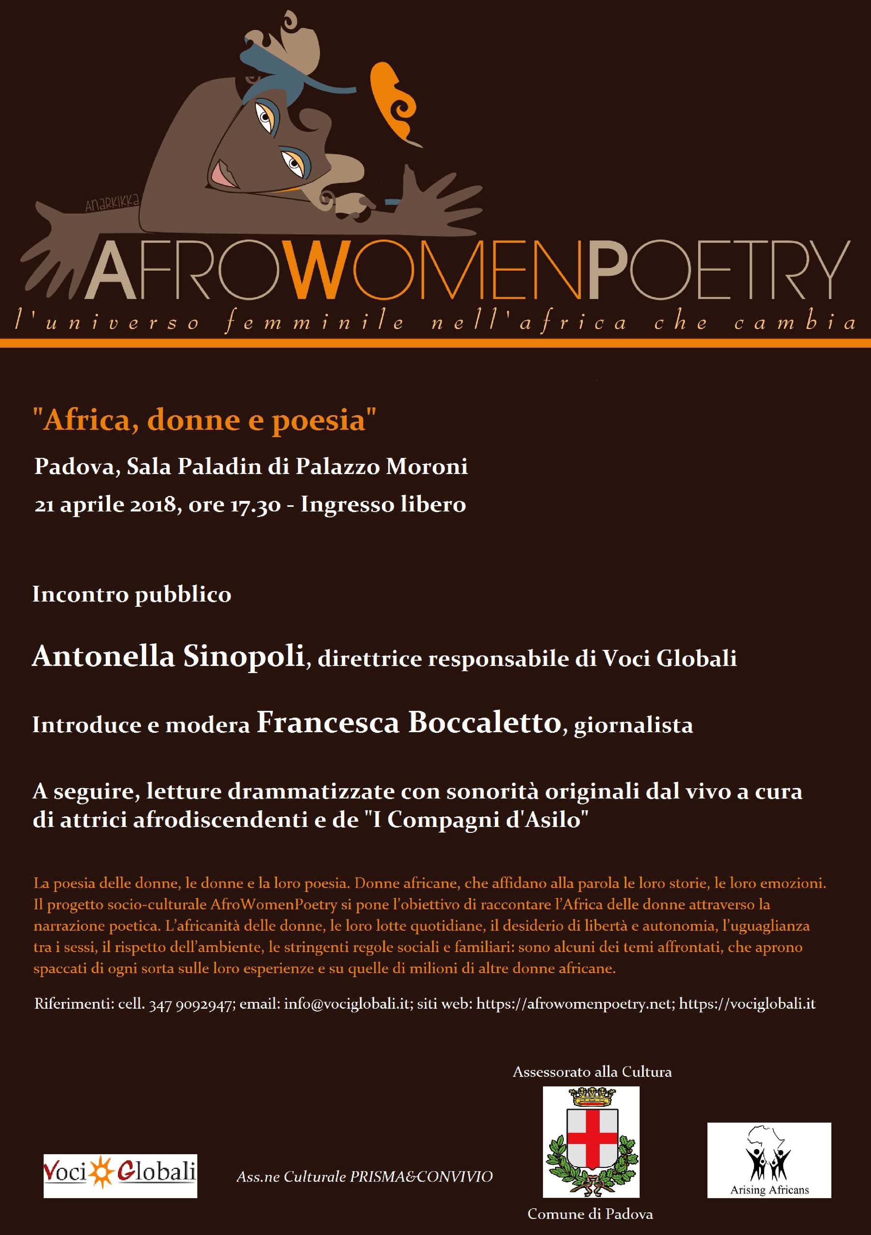 AfroWomenPoetry a Padova
