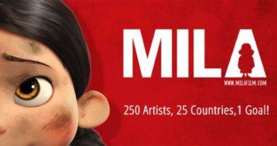 Mila, un cartoon per spiegare la guerra ai bambini