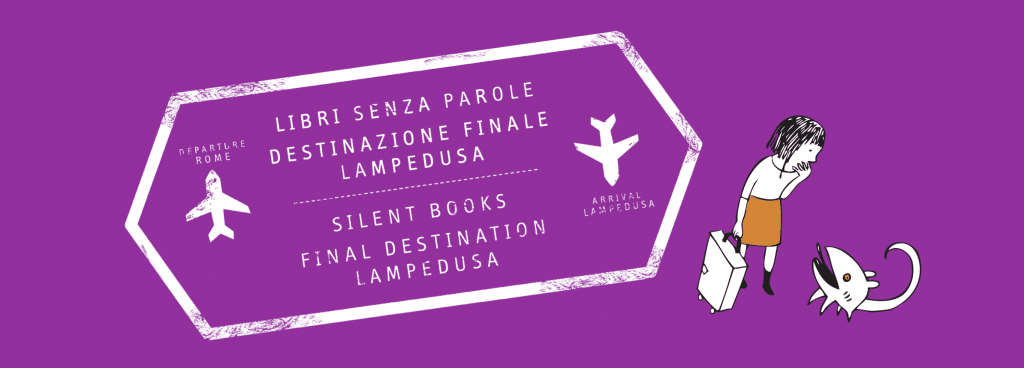 Libri senza Parole per Lampedusa - Immagine da Ibby Italia Facebook