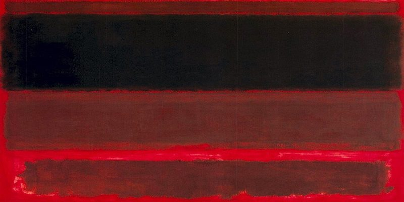 "Mark Rothko, ""Four Darks in Red"", 1958"