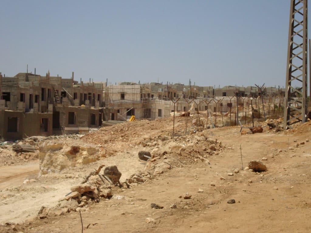 Costruzione insediamenti israeliani in territori contesi. Flickr Creative Commons - Cyral