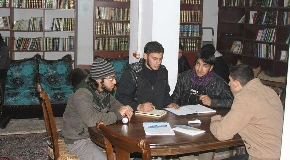 Biblioteca di fortuna in Siria @ Buzzfeed