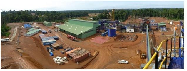 Operazioni estrattive della MNG Gold in Liberia