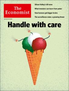 Copertina The Economist del 2 giugno 2018