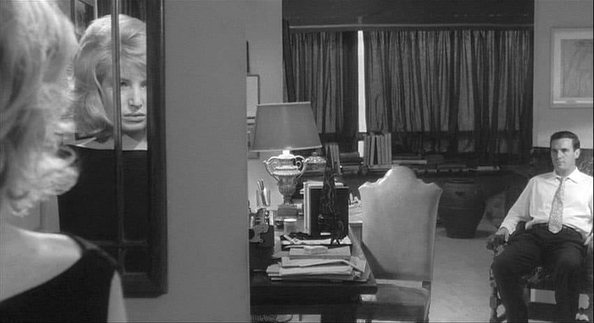 """Immagine tratta dal film """"L'eclisse"""" di Michelangelo Antonioni"""