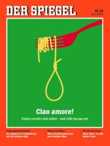 Copertina Der Spiegel - giugno 2018 - Da pagna Twitter @DerSPIEGEL