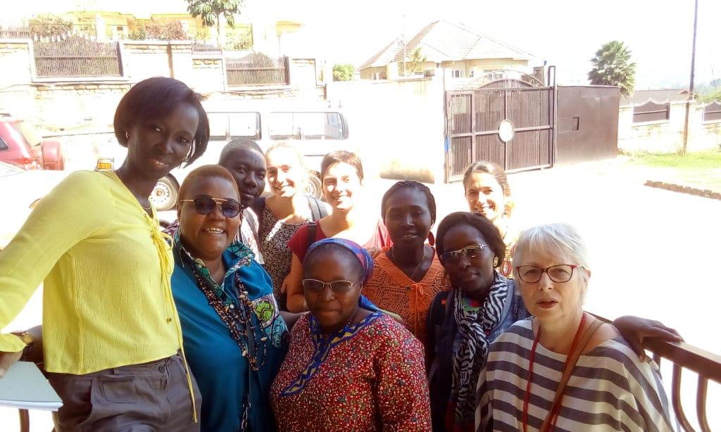 Membri di <i>Autisme Afrique Alliance</i> (Ruanda, Costa d'Avorio, Congo, Francia, Benin)