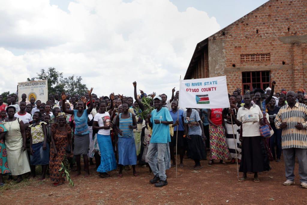 Abitanti della regione Yei, in Sud Sudan spera nel processo di pace per tornare ad una vita normale. Flickr Creative Commons - UNMISS