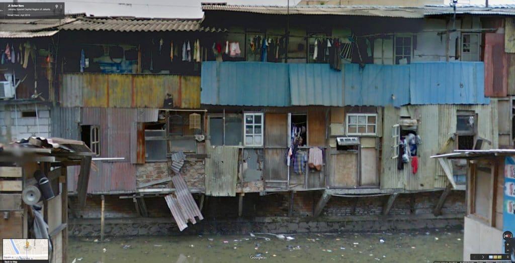 Scorcio baraccopoli Jakarta durante inondazione - Foto Flickr Creative Commons - Kevin Dooley